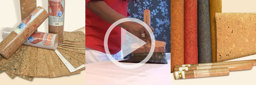 Video how to hang cork wallpaper